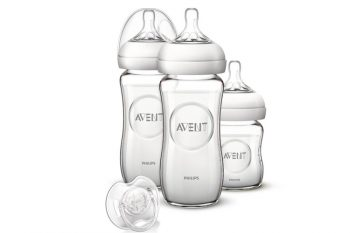 Philips Avent Natural SCD291/02 Kit de Biberon en Verre