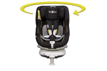 "Bébé2Luxe ""The One"" Gold/Black Edition siège auto pivotant"