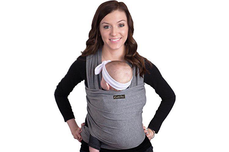 ceef70f4ed8 CuddleBug Porte bébé Echarpe de portage - Test et avis de la rédaction