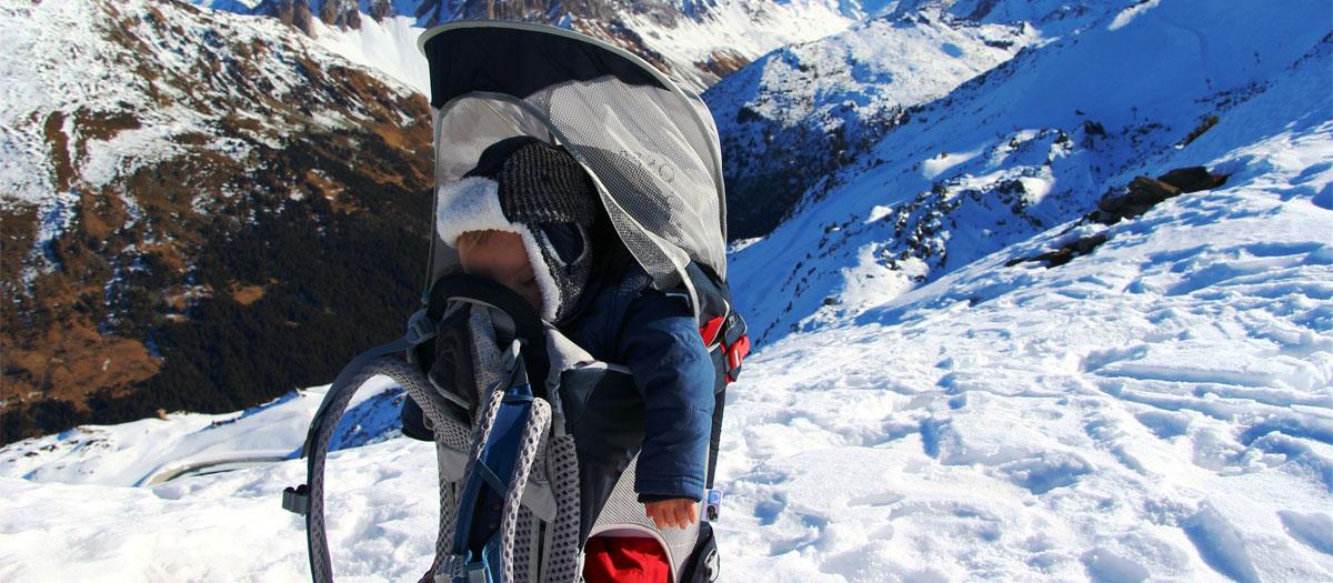 achat porte bébé pour randonnée