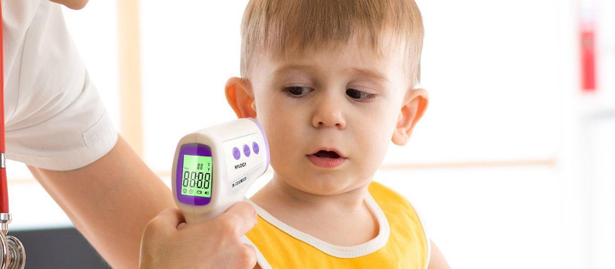 comparatif thermomètre pour bébé