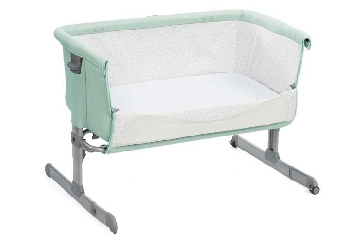 Chicco Next 2 Me Dusty Green test