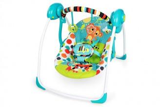 Bright Starts Kaleidoscope Safari : pourquoi préférer cette balancelle pour bébé?