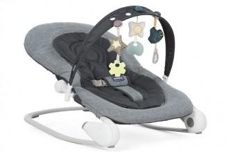 Chicco Hoopla Transat Dark Grey : un transat bébé très confortable