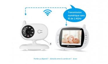LESHP SBJ-001 : un babyphone numérique multifonctionnel