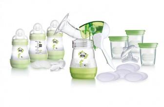 MAM Breast Feeding Starter Set : le kit complet de tire-lait idéal pour toutes les mamans