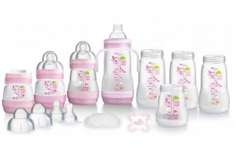 MAM GP0005G Kit Biberons Rose Nouveau-Né : l'idéal pour les bébés