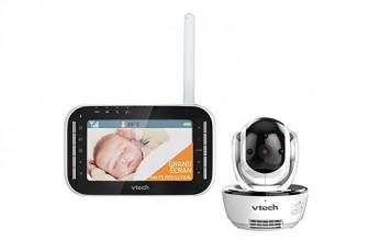 Vtech XL BM4500 : un babyphone doté d'un grand écran couleur de 4,3 pouces